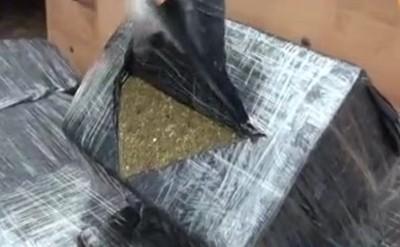 Interceptan camión con 1.500 kilos de marihuana en CDE