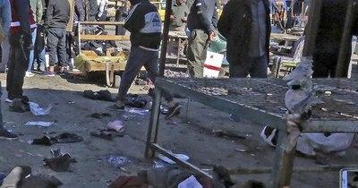 La Nación / Ataque suicida en Irak con el sello del Estado Islámico deja 32 muertos