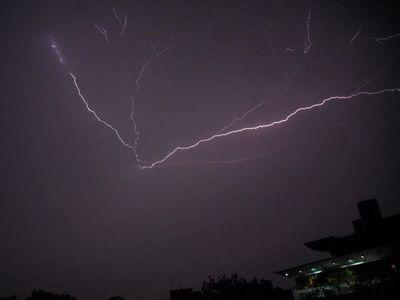 Alertan sobre tormentas para cuatro departamentos