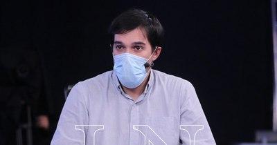 """La Nación / """"Tengo la seguridad de que las vacunas llegan en este trimestre"""""""