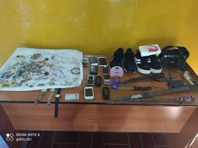 Caen dos hombres con antecedentes tras robo domiciliario en Ypacaraí