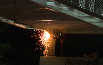 MOPC: siguen los trabajos en la pasarela de oro