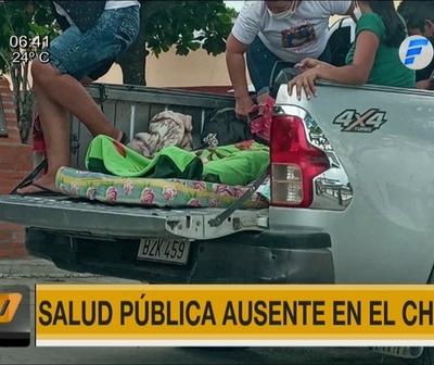 Salud Pública ausente en el Chaco