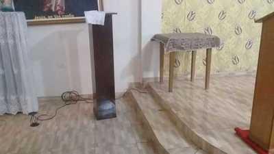 Delincuentes hurtan en una capilla de Ciudad del Este