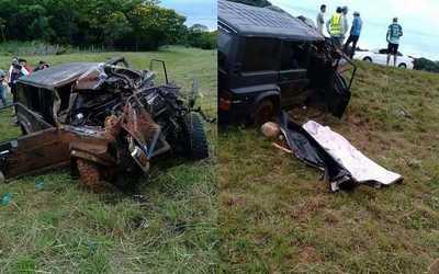 Fatal accidente en Mbocayaty del Guairá