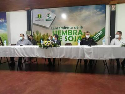 SE REALIZÓ EL LANZAMIENTO DE  COSECHA SEGURA EN ITAPÚA.