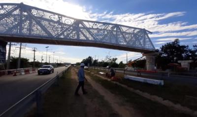 "MOPC se encargó de todo el proceso licitatorio de pasarela ""de ñandutí"", afirma Contrataciones"