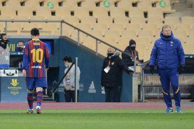 La RFEF ratificó la suspensión a Lionel Messi