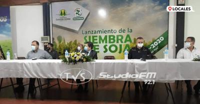 """Lanzan el programa """"Cosecha Segura 2021"""" en el departamento de Itapúa"""