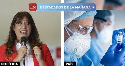 La Nación / Destacados de la mañana del 22 de enero