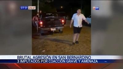 Imputan a tres jóvenes por golpiza en San Bernardino