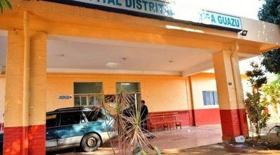 Hospital de Minga Guazú sin agua hace tres meses y piden a pacientes que lleven