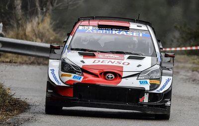 Elfyn Evans se sitúa como líder del Rally de Montecarlo