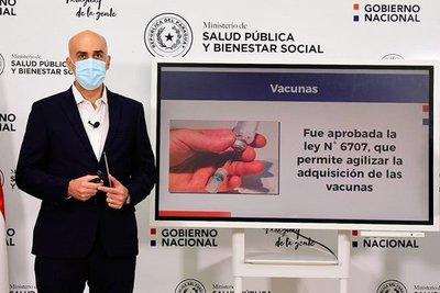 Paraguay llega a acuerdo para compra de vacunas contra covid-19 y aplicación se espera inicie en febrero