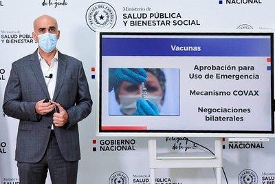 Covid-19: Vacunas llegarán en segunda quincena de febrero asegura Mazzoleni