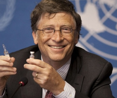 Bill Gates se vacuna contra el coronavirus