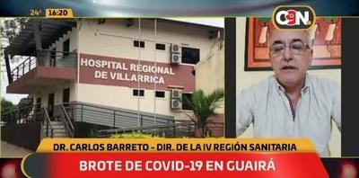 Reuniones de fin de año generaron brote en Guairá, confirman