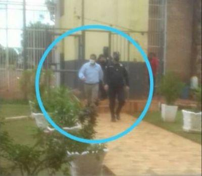 El concejal municipal Martín Pocho ya está en la cárcel de Pedro Juan Caballero