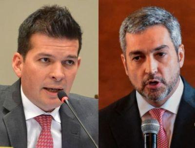 Godoy dispara contra Abdo: Ya no cabe ninguna duda de que él es el principal corrupto