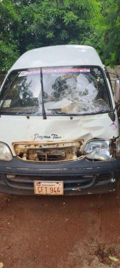 Peatón fallece tras ser atropellado por furgoneta en Ciudad del Este