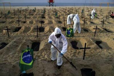Covid-19: Brasil registra 1.071 muertes en 24 horas