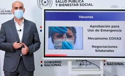 Paraguay acuerda compra de vacunas y aplicaciones se darían en febrero