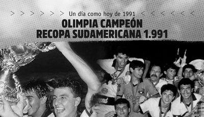 Olimpia recuerda un nuevo aniversario de la copa internacional que ganó sin jugarla