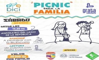 """Picnic para la familia"" llega hoy al Lago de la República de CDE"