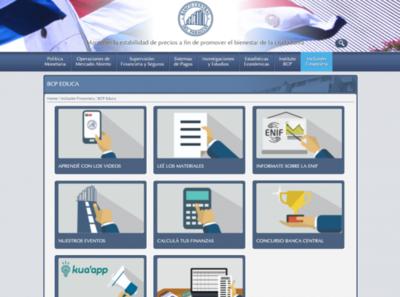 Banco Central cuenta con calculadora de presupuesto familiar en su página web