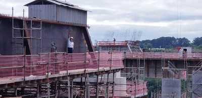 Para febrero se prevé empuje del primer tablero en el lado paraguayo del Puente de la Integración