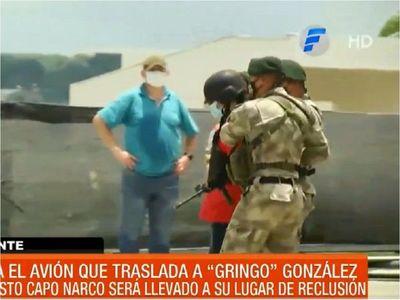 """Clemencio """"Gringo"""" González es trasladado a la Agrupación Especializada"""