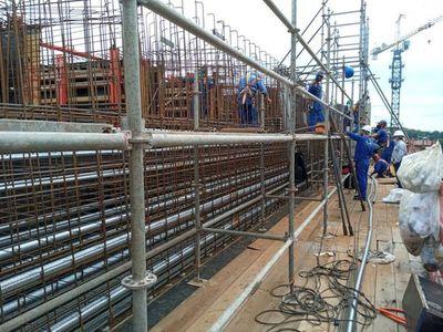 Construcción del Puente de la Integración con importante avance