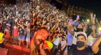 HOY / Descontrol en San Ber: Suspenden actividades en Anfiteatro y abren sumario