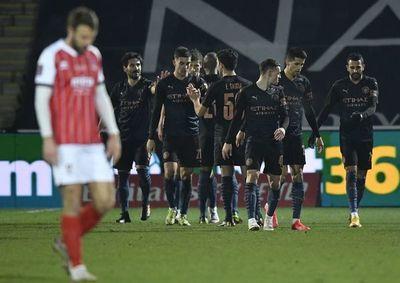 El City sobrevive a un equipo de Cuarta división