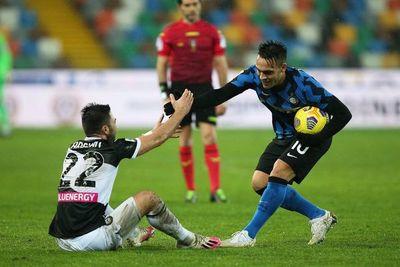 El Inter no pasa del empate en Udine