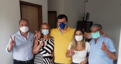 La Nación / Blanca Fonseca suma apoyo a su candidatura para la intendencia de Luque