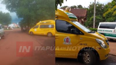 MOTOCICLISTAS SUFREN FRACTURAS TRAS ACCIDENTE EN TAVA'I