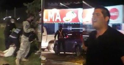 La Nación / San Ber, la ciudad de la furia: prepotente conductor intentó huir de policías y casi arrolla a uno