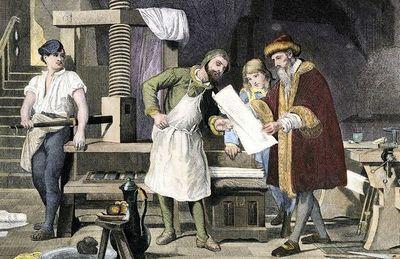 El escritor, el libro y Gutenberg