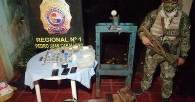 La Nación / Capturan a brasileños que procesan cocaína