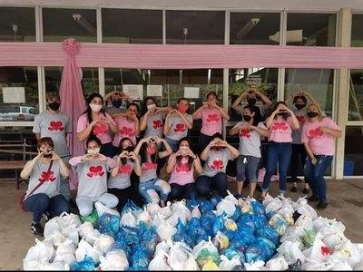Crónica / Solidarios, unidos por una ¡cadena de amor!