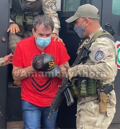 Clemencio Gringo González es transladado a la Agrupación Especializada