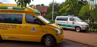 Dos hermanos de 20 y 25 años graves tras accidente en Caazapá