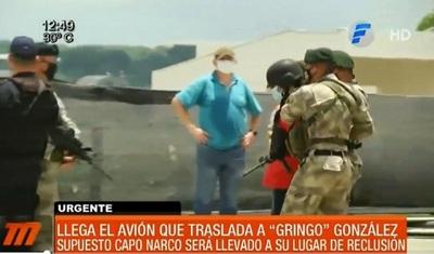 """Trasladan al """"Gringo"""" González hasta la Agrupación Especializada"""