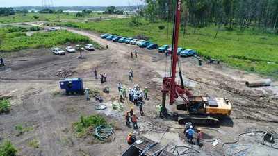 Verifican obras que reforzarán sistema eléctrico en el área metropolitana
