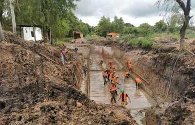 Construcción de drenaje pluvial beneficiará a 35.000 pobladores de San Ignacio