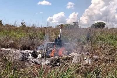 Mueren cuatro futbolistas y el presidente de un club brasileño en un accidente aéreo