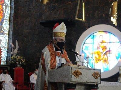 Monseñor Steckling critica a los que se enriquecieron con la desgracia en tiempos de Covid-19