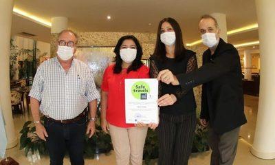 CDE suma establecimientos hoteleros y agencia con certificación Sello Safe Travels