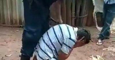 La Nación / Fiscalía investiga a un policía por brutal agresión durante un procedimiento